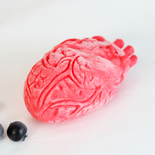Nicole Horrible Heart Shape for Ice Cream Mousse Cake Tool Halloween Theme Handmade Soap Mould