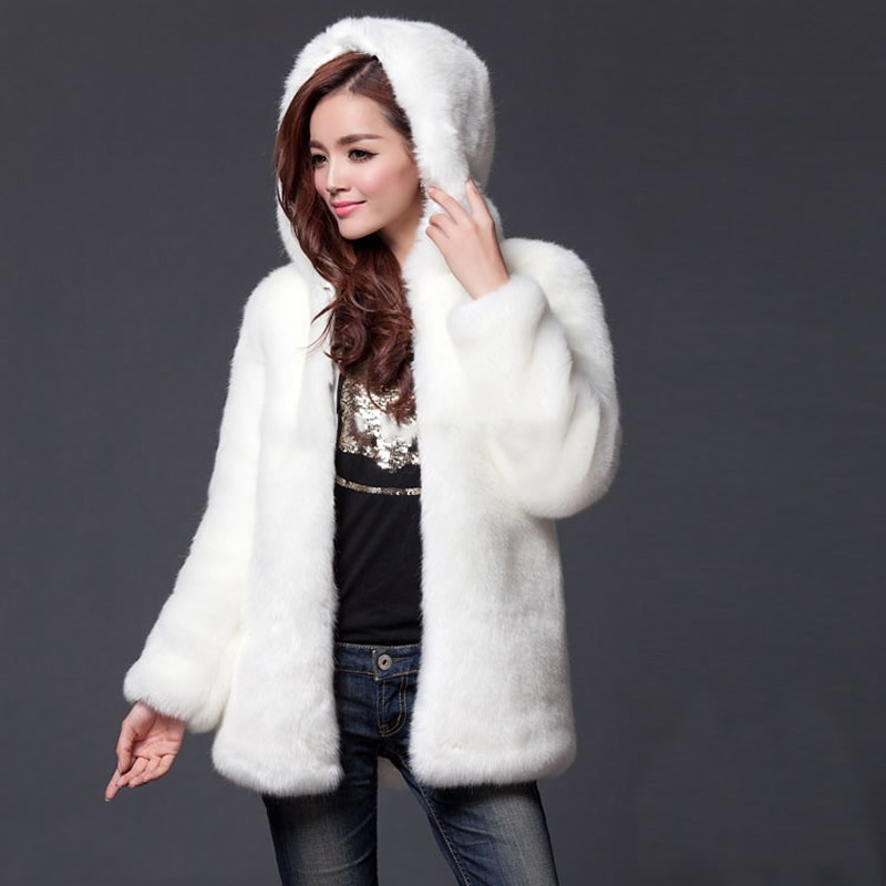 Popular White Fur Coats for Women-Buy Cheap White Fur Coats for