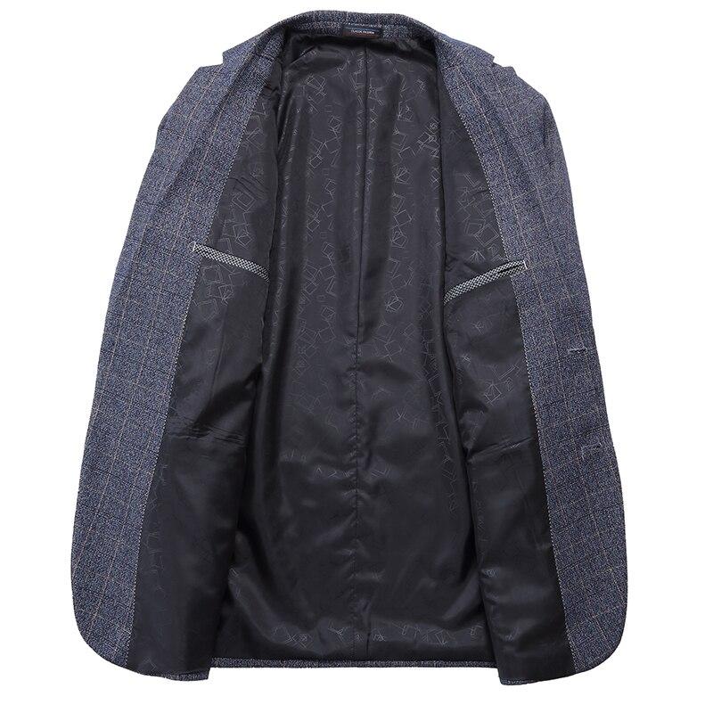 Blazer Casual de calidad superior para hombre talla grande 2019 primavera Venta caliente chaqueta de negocios abrigos para hombre traje Formal chaquetas 7XL 6XL 5XL 4XL-in chaqueta de deporte from Ropa de hombre    3