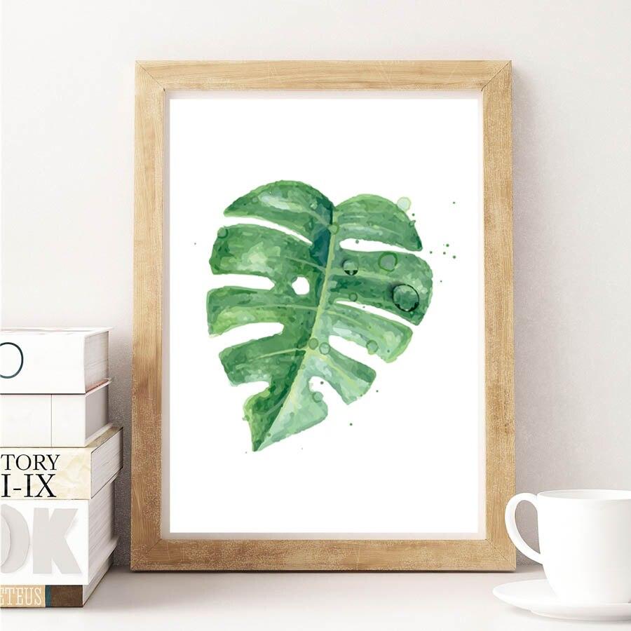 Nordic Green Plant тропикалық жапырақтары - Үйдің декоры - фото 2