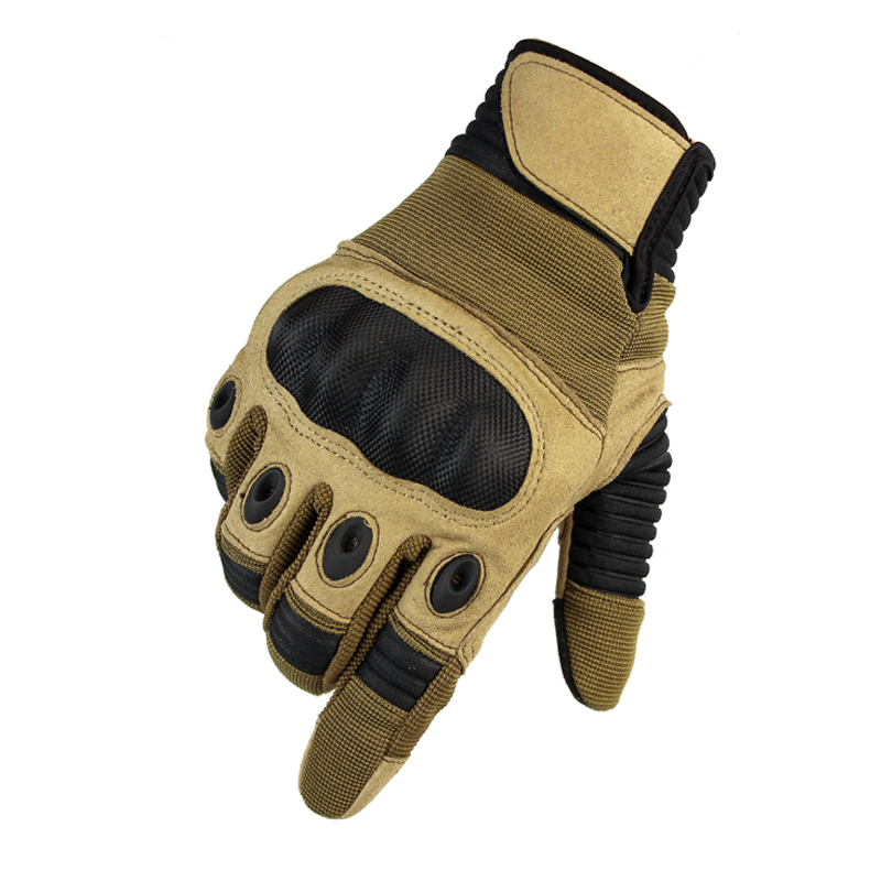 Men's Sport Full Finger Gloves Touch Screen Tactical Gloves Military Airsoft Shooting Hunting Hard Knuckle Armed Mittens