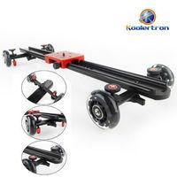 23 6 60CM Professional Video Camera Slide Rail Mini Dolly Stabilization System For DV DSLR Video