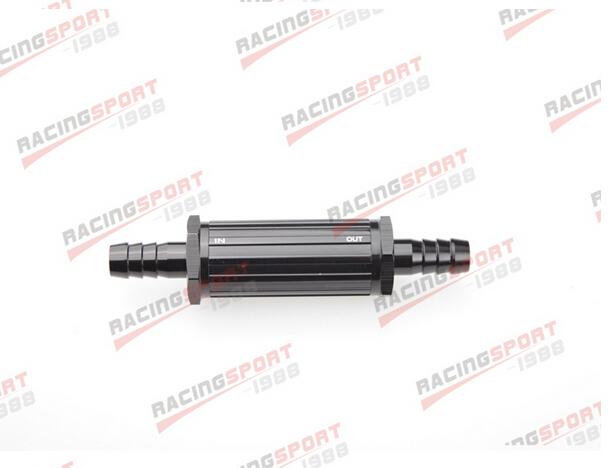 12 mm preto anodizado Billet Magnetic filtro de combustível 30 Micron FF-2510 preto