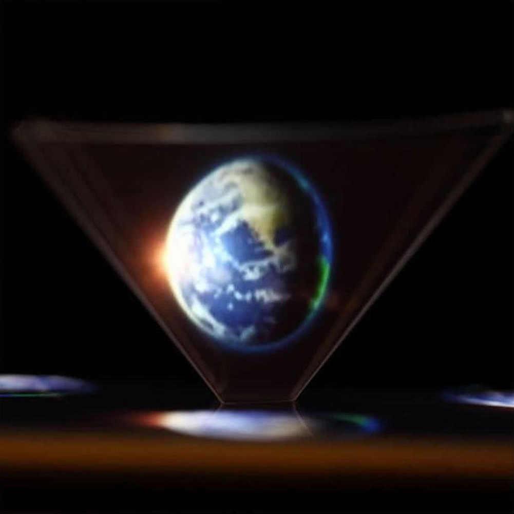 العالمي الهولوغرام ثلاثية الأبعاد عرض الفيديو العارض شقة قابلة للطي مصغرة هاتف ذكي