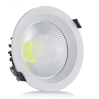 Free Shipping 30W Led Ceiling Light COB lamp LED Down Light Recessed LED Lamp Warm White Cool White For Home AC85-265V цена 2017