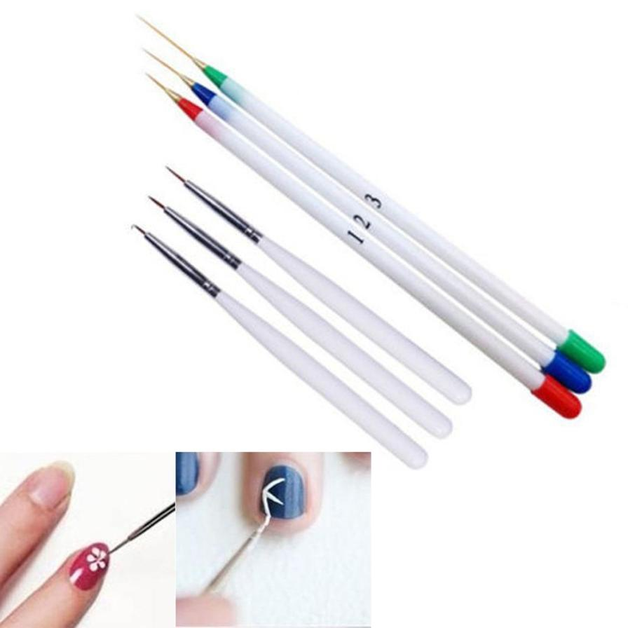Best Price! 100% brand new and high quality 6PCS Nail Art Design Set ...