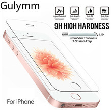 Premium Tempered Glass Screen Protector for iPhone 5 5s se HD Protective Film for iPhone 6 6s 7 8 Plus X 10 XS XR MAX Glass стоимость