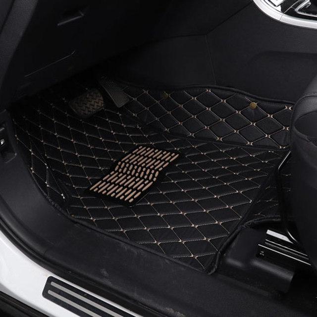 car floor mat carpet mats for Land rover range rover discoveri discovery 3 4 5 sport Evoque Velar2018 2017 2016 2015 2014 2013