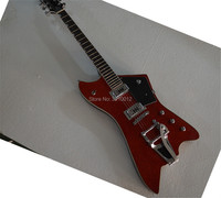 wholesale&Retail high quality factory custom Gretsch 6 Strings large rocker Red electric guitar