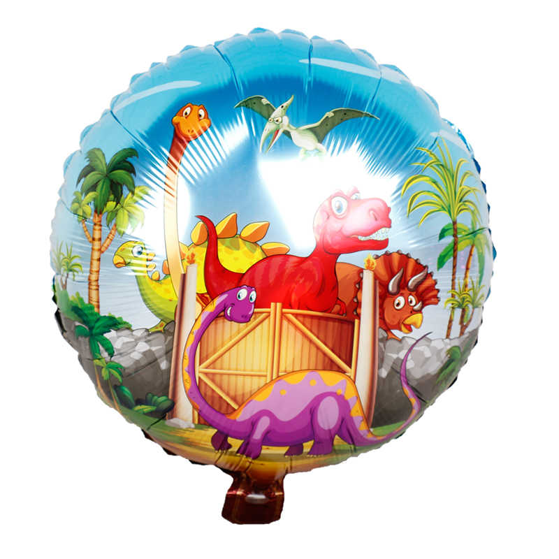 1pc Grande Dinossauro Balões do partido do tema presentes Do chuveiro de Bebê menino animais dragão decoração Da Festa de Aniversário fontes do partido de Dinossauro Brinquedos