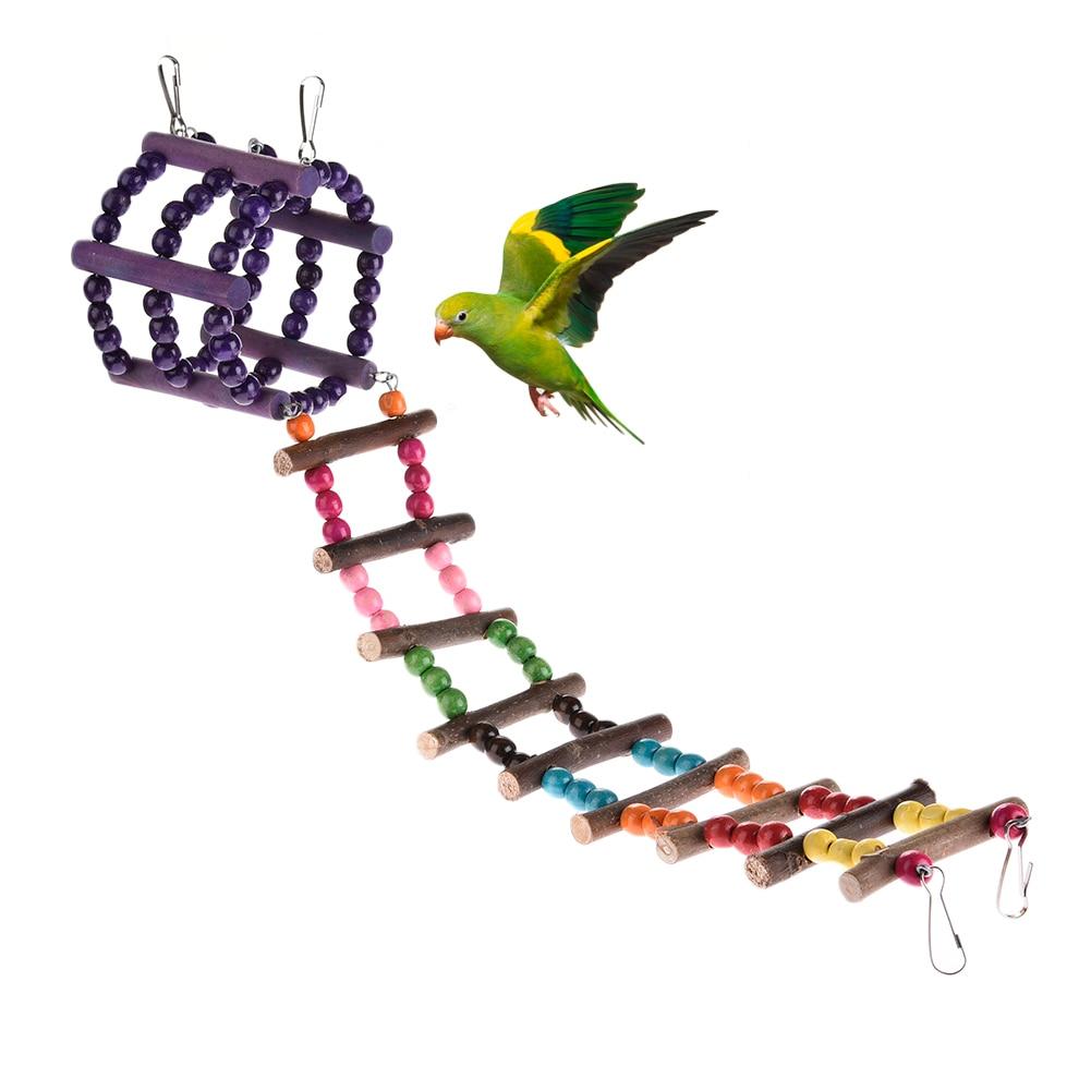 New Bird Parrot Toy detachable Sugar Glider Climbing Ladder