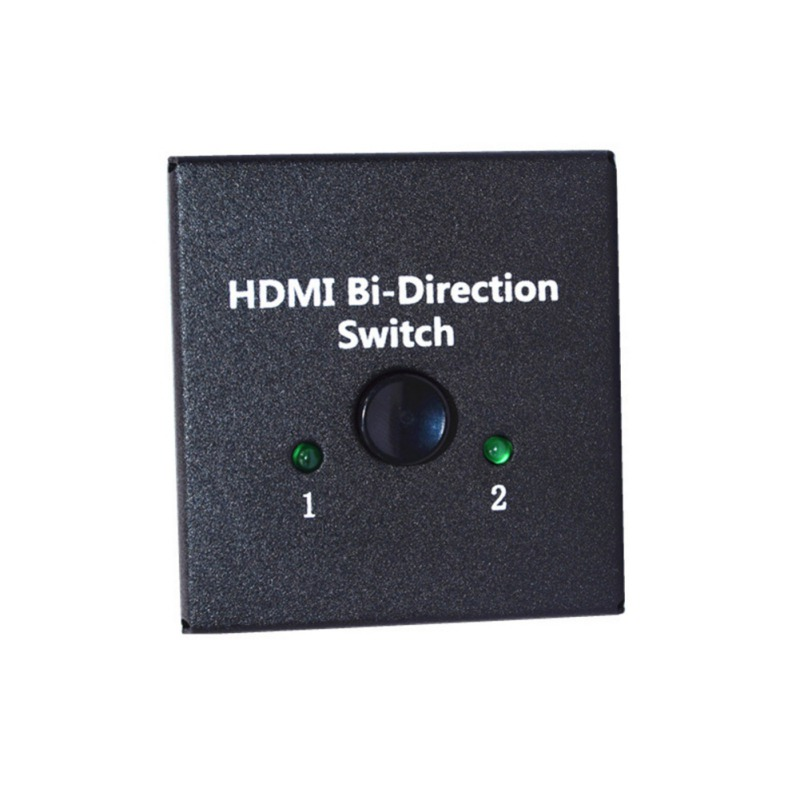 New Arrival female -female 3D 1.4V 2 Port HDMI Bi-directional 2x1 Switch Switcher or 1x2 Splitter Selector new phcenix contact relay psr scp 24uc thc4 2x1 1x2 spot