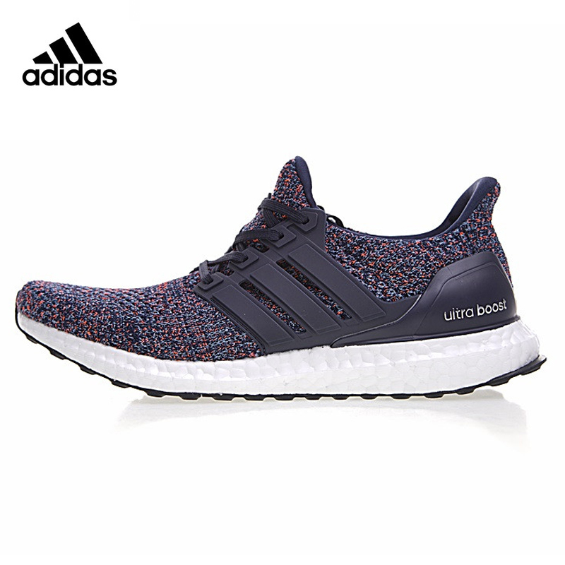 Original New Arrival Authentic Adidas Ultra Boost 4.0 Navy Multicolor Men's Running Shoes Sneakers Comfortable Breathable adidas кроссовки ultra boost w