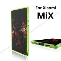 For Fundas Xiaomi MiX Case Luxury Deluxe Ultra Thin Aluminum Bumper For Xiaomi Mi MiX 6
