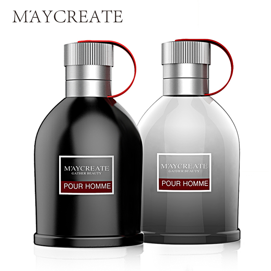 MayCreate 100ml Perfumed Men Portable Parfum For Men Classic Cologne Lasting Fragrance Spray Glass Bottle Male Perfumed