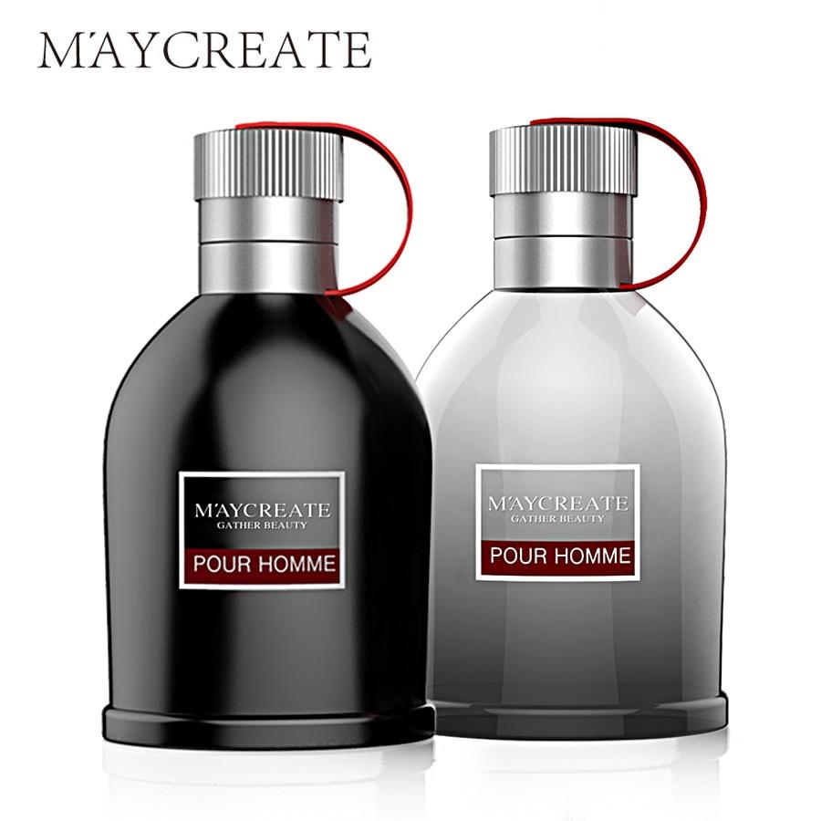 MayCreate 100ml Perfumed Men Portable Parfum For Men Classic Cologne Lasting Fragrance Spray Glass Bottle Male Perfumed