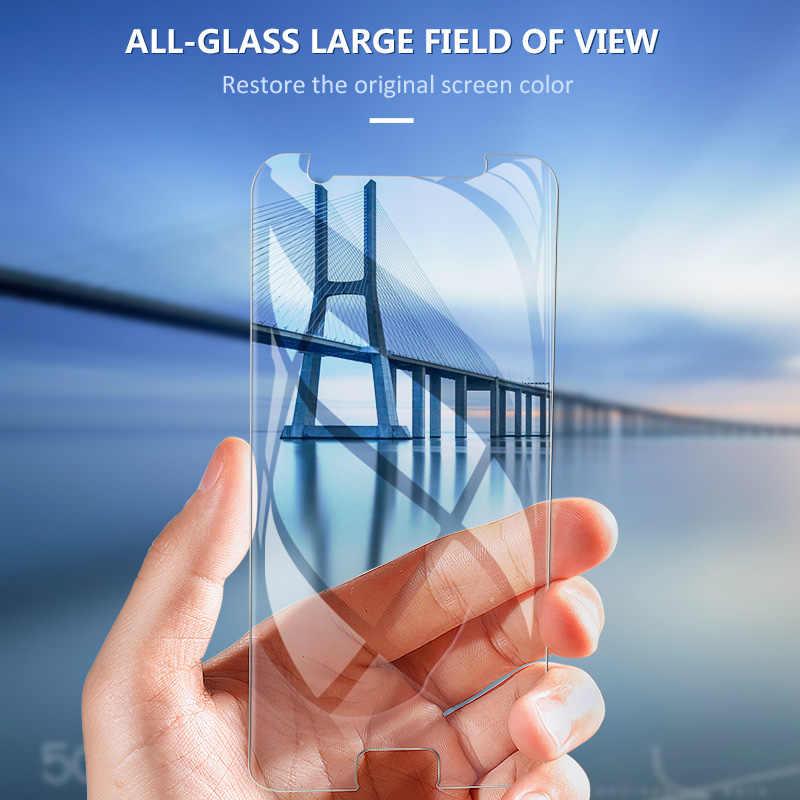 2.5D المقسى زجاج عليه طبقة غشاء رقيقة على لسامسونج غالاكسي A10E A20E S3 S4 S5 البسيطة واقي الشاشة الزجاج لسامسونج غالاكسي A7 A8 A9 2018