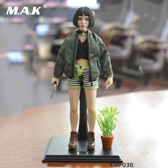 1/6 Natalie Portman Leon Mathilda Girl Action Figure KMF036 Collectible Model Toys