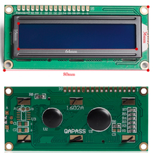 Wholesale LCD1602 Keypad Shield LCD 1602 Module Display for raspberry pi 2/3 with blue screen and White Code