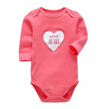 100%Cotton Baby Clothing Newborn Bodysuit Long Sleeve Underwear Infant Boys Girls Clothes Baby's Sets