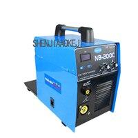 Carbon dioxide MIG welding machine NB 200C Small home Gas welding welder sheet welding Metal processing maintenance tool 1pc
