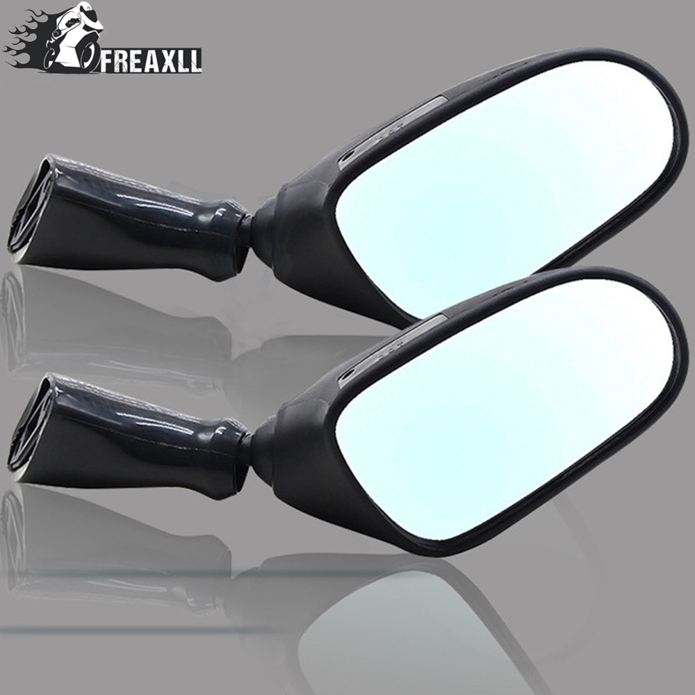 Motorcycle Rearview Side Mirrors Rear View Accessories moto motorbike accessori For <font><b>Suzuki</b></font> <font><b>GSX600F</b></font> 1998 <font><b>1999</b></font> 2000-2002GSX750F image
