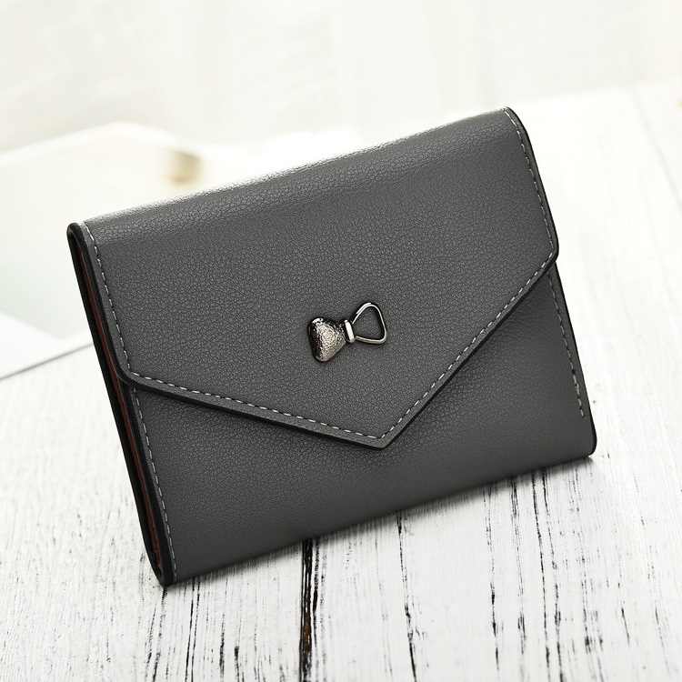 Short Purse Women Wallets Credit Cards Holder Girls Purses Pocket PU Leather Female Wallet Bow Money Bags Clips Pouch Burse Case 100% wax oil cowhide vintage wallets female money clips real leather clutch wallet for women credit cards change purses 2014 new
