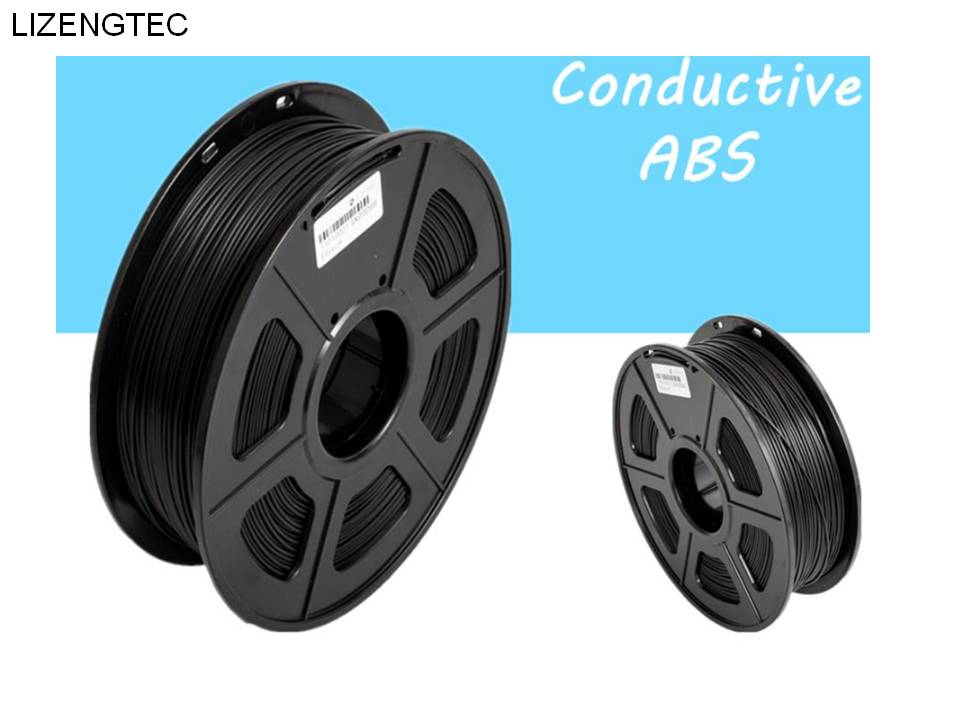 Non-toxic 0 5Kg Conductive ABS 1 75mm 3D Printer Filament 3D Printing ESD  Material Suitable for 3D
