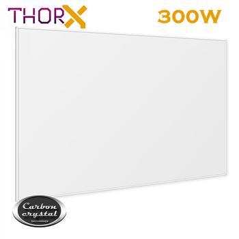 Panel calefactor infrarrojo ThorX K300 300W Watt 50x60 cm con tecnología de cristal de carbono