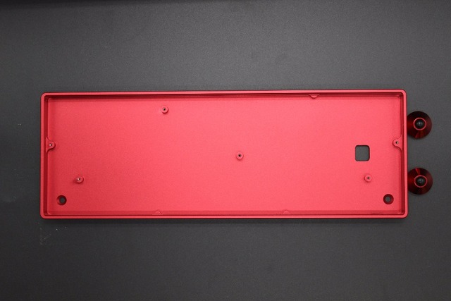 Customized GH60 Full Kit Aluminum Case CNC Acrylic Case PCB Universal Plate Switches LED For 60% ANSI ISO Mechanical Keyboard