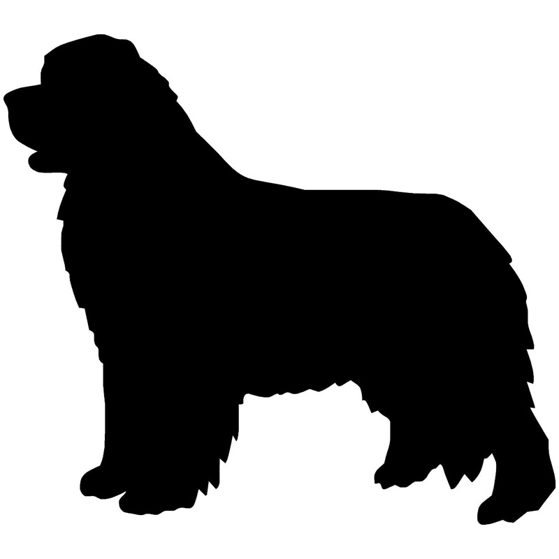 22.9*20.3CM Newfoundland Dog Window Glass Decorative Stickers Lovely Car Covers Scratches Motorcycle Decals Accessories C6-0021 15 5 12 7cm rottweiler dog vinyl decal cartoon animal car window decorative stickers motorcycle accessories c6 0240