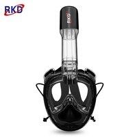 2nd Generation One piece Gasbag Snorkeling Mask