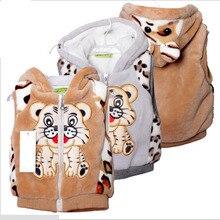 Enfants gilet enfants hiver printemps vêtements en fausse fourrure chaude outwear garçons filles gilet bébé filles vêtements