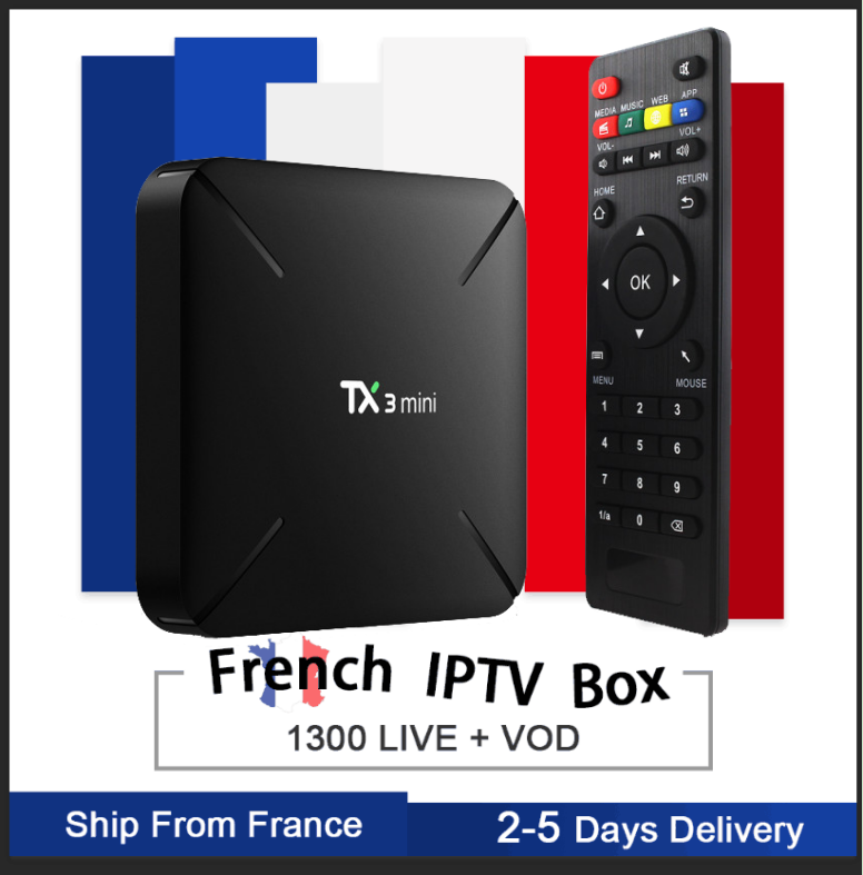 TX3 GOTIT Android7.1 S905W 2/16G Smart tv Box & Pro французская Нео подписка Европа Бельгия Франция Арабский IP tv телеприставка