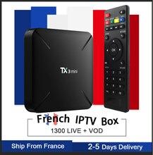 tx3 mini Android 7.1 s905w Smart TV Box &pro neo iptv subscription Europe France Beigium Arabic bein sport tx3mini box