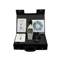 Iec 61672  type ii 30 ~ 130db가있는 TM-102 디지털 잡음 측정기 데시벨 사운드 레벨 미터