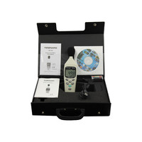 Medidor de nivel de sonido de decibelios TM-102 Digital con IEC 61672  tipo II 30dB 130dB