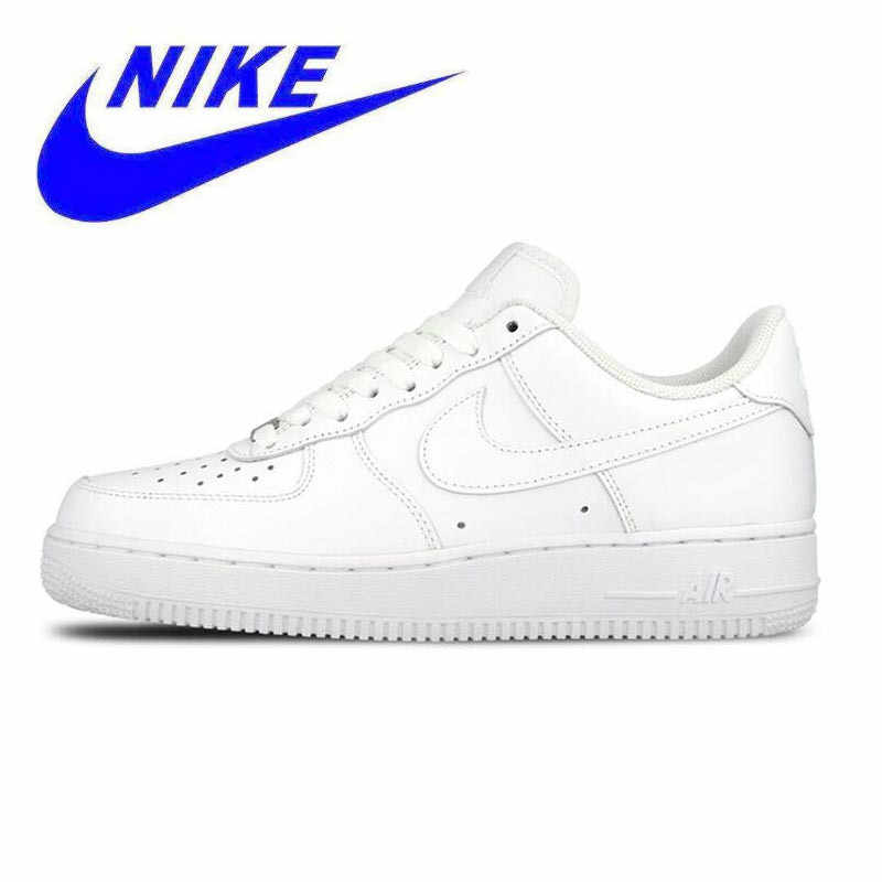 5d9ad860 Nike AIR FORCE 1 AF1 унисекс оригинальный Новое поступление официальный для  женщин и мужчин дышащая обувь
