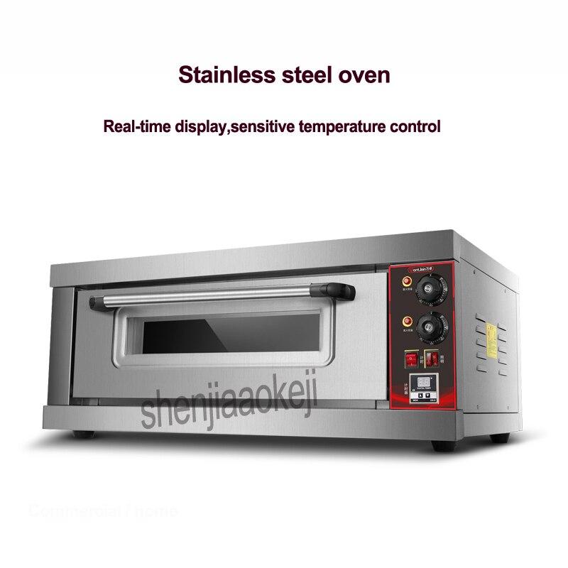 Fours électriques à la maison de four de cuisson de grande capacité commerciale d'acier inoxydable de 3200 w avec la fonction de synchronisation 220 v/50 hz