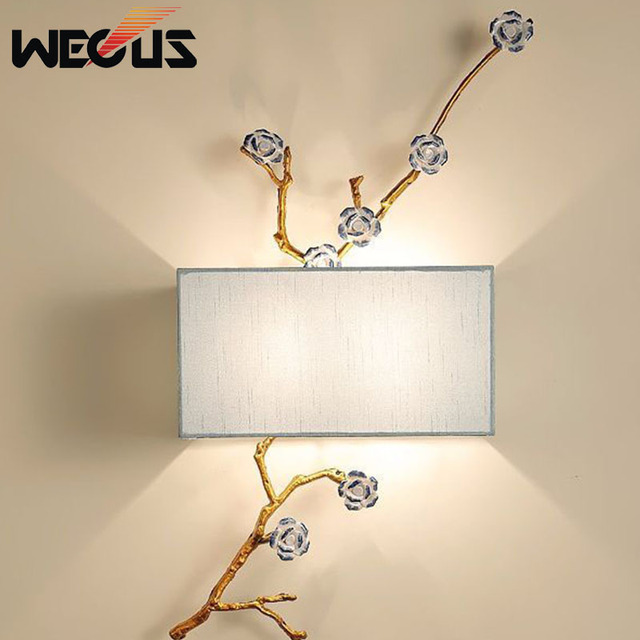 New Wall Lamps Creative Painting Modern Decoration Bathroom Dining Room Reading Background mounted indoor led lighting