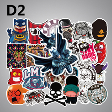 50 Pcs 16 models Stickers JDM Mixed Style Toy Decor Vinyl Decals Laptop Luggage Refrigerator Skate
