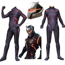 Новинка; костюм для косплея для взрослых и детей; Omega Oblivion Link Zentai; комбинезон; светодиодная маска на Хэллоуин