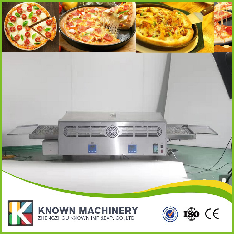The CE certified 37KG KN-12 Electric conveyor pizza oven with free shipping by sea The CE certified 37KG KN-12 Electric conveyor pizza oven with free shipping by sea