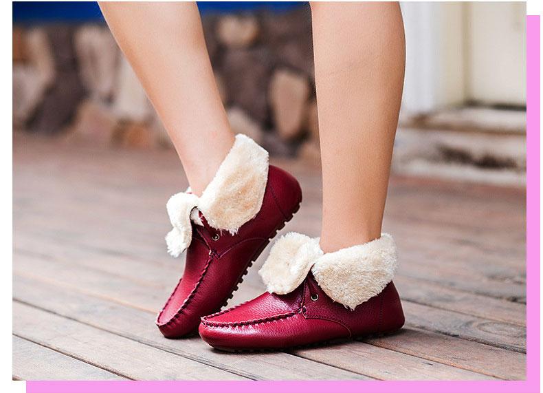 AH 5790 (21) women plush boots