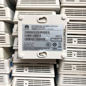Image 5 - 90% new used equipment 20pcs Huawei Gpon Onu HG8310M ftth ont fiber optic used router 1GE without power and Boxes