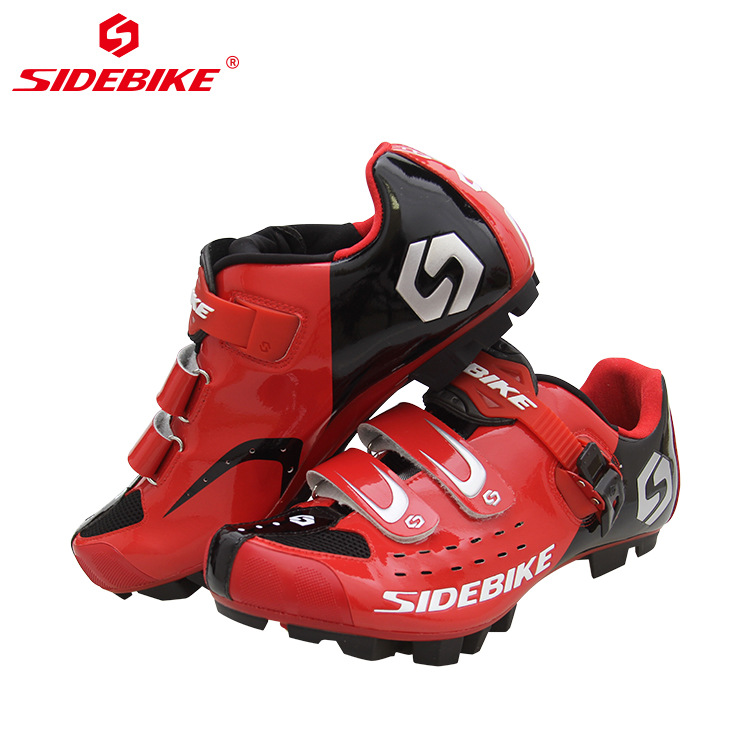 Sidebike Professional Quality Cycling Bike Shoes Non-slip Wear Outdoor Athletic Bicycle Shoes Comfortable MTB Bike Lock Shoes
