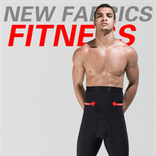 b3452520d5 Men Body Shaper Pants High Waist Tummy Control Belt Slimming Panties Beer  Belly Abdomen Girdle Fitness