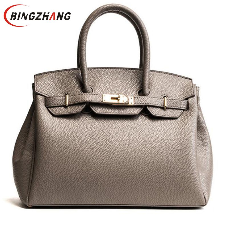 Luxury Women Handbag Ladies Famous Casual Tote Bag Elegent Leather Bag Lock Zipper Bags Brand Designer High Quality Bags L8-79 zmqn tote bags handbag women famous brand pu leather luxury designer handbag high quality high capacity ladies hand bag red a805