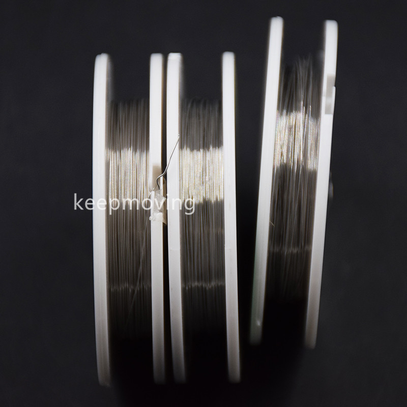 1 Rolls Dental Orthodontic Ligature Wire Round Spool Stainless Steel 0.2/0.25/0.3 Mm 50g