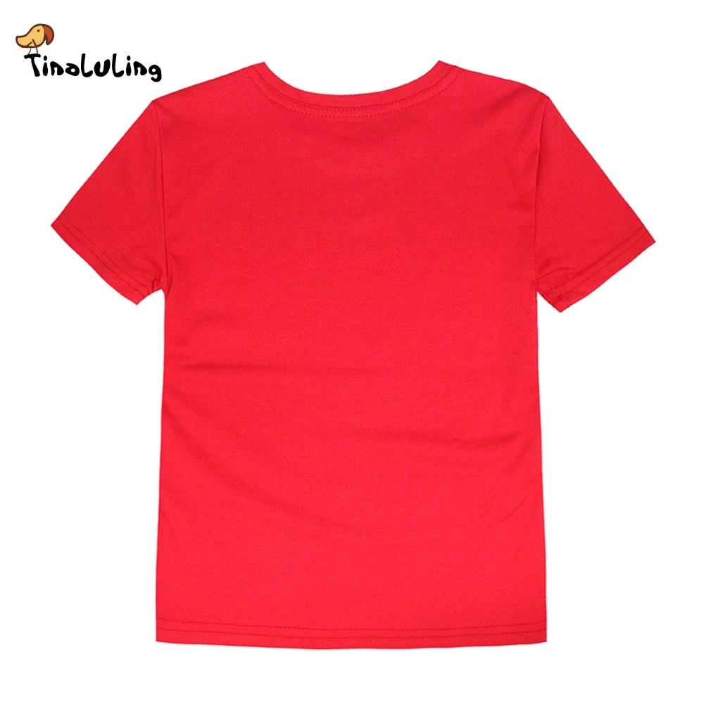 US $4 3 OFF Tinoluling Gadis Gadis Anak Laki Laki Sinar Matahari T Shirt Anak Kaos Anak Kartun Sun Tops Bulan Tees Untuk 2 14 Tahun T Shirt